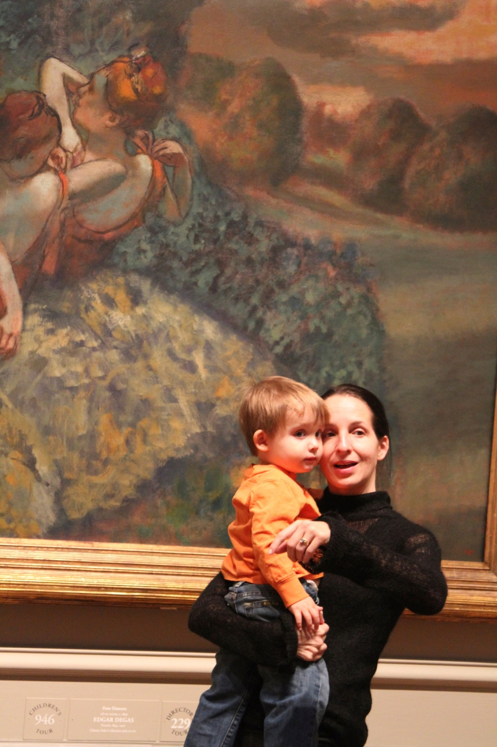 So much to see.  Degas...