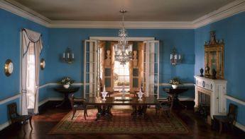 virginia dining room, c. 1800: artic.edu