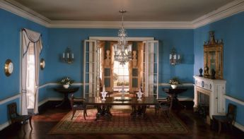 virginia dining room, c. 1800: artic.edu