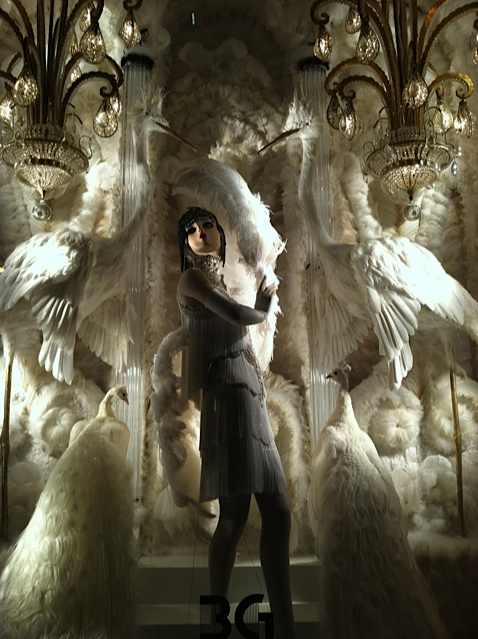 a Bergdorf window