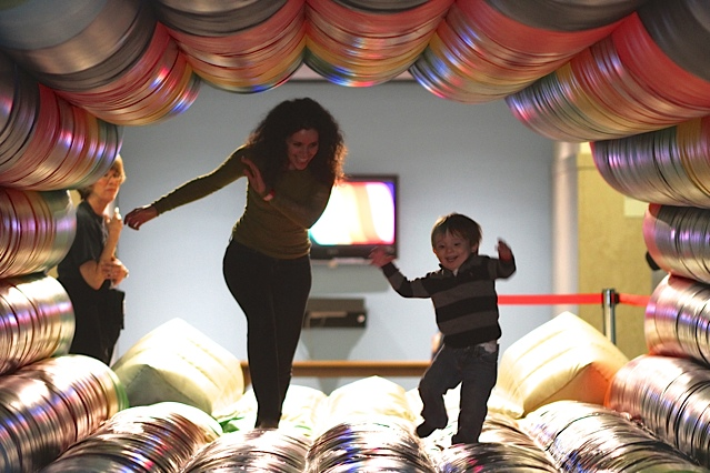 Go to a bouncy house with Briana---Pittsburgh Children's Museum