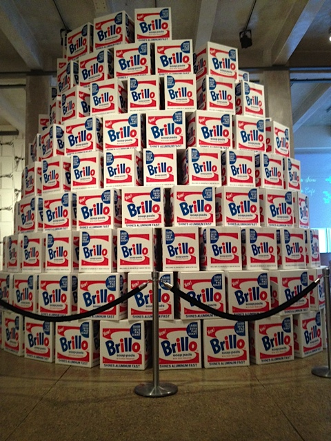 We visited the first famous Pittsburgh Andy Museum---Warhol