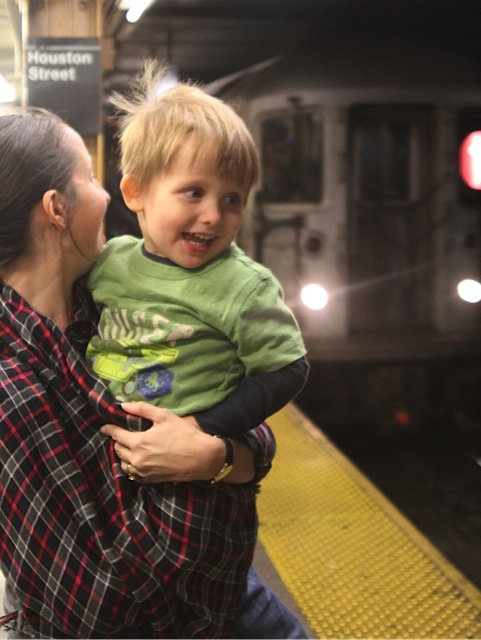 wouldn't it be fun to go to New York and ride the subway?