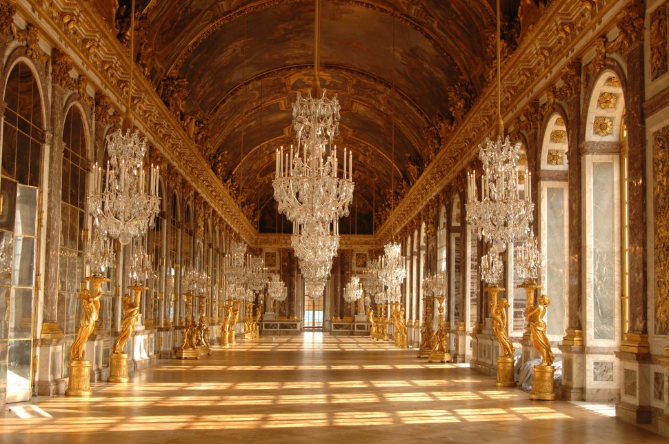 The Hall of Mirrors-Versailles-versailles3d.com
