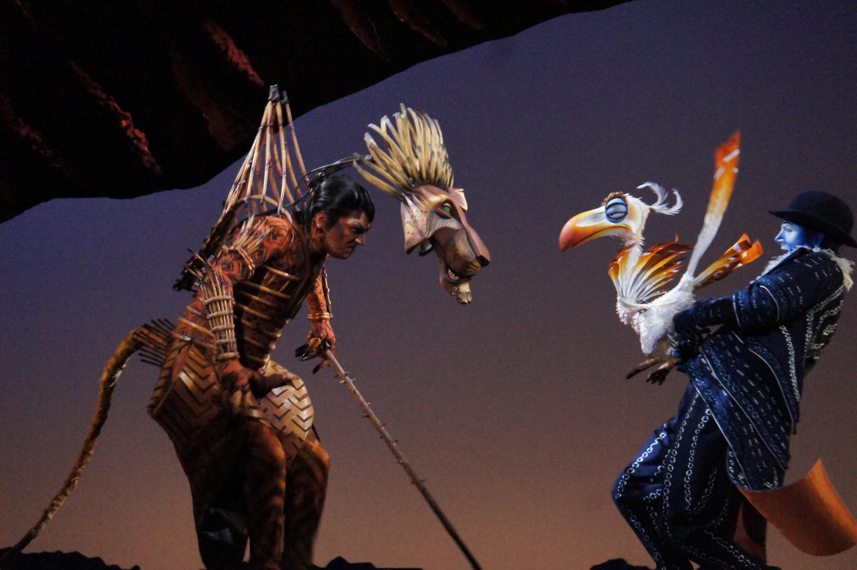 On the other hand the child actor for Simba was great! Though for my favourite characters of the night Iu0027d have to go with Rafiki Zazu and Timon. & Descent of the Archangel: The Lion King Musical
