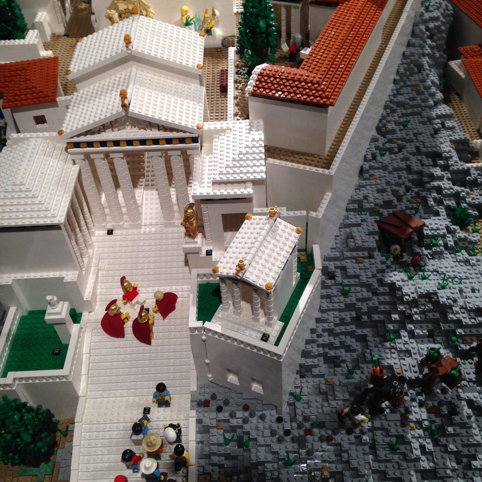 the lego acropolis g and i went to visit last week
