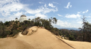 early hike to the griffith observatory